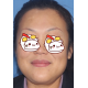 研究了半天还会了评价,好麻烦用这个软件,一做完眉毛脸显得协调多了。先上图吧。